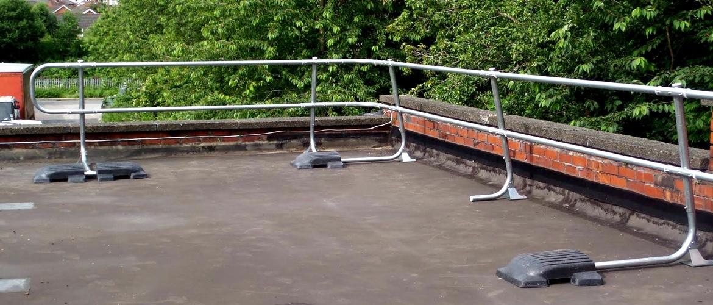 Standard Roof Guardrail System