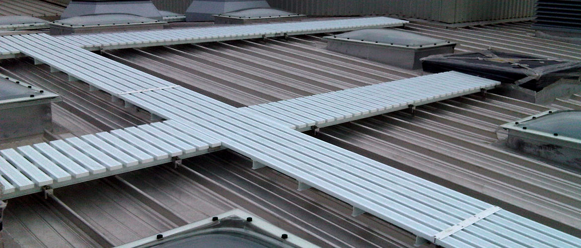 Standard Roof Guardrail System